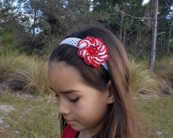 Children's Headband / Kid's Headband / Baby's Headband / Crochet Headband
