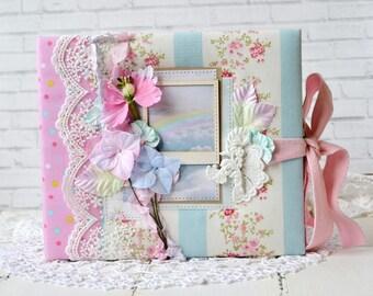 Photoalbum, Photo album, Baby Memory Book, Baby Girl Memory Book, Baby Girl Journal, Scrapbook Album, Baby Scrapbooking