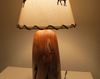 Table Lamp - Ancient Juniper Wood