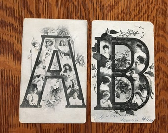 1904-06 LARGE LETTER Photographs