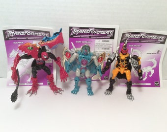 Transformers robots in disguise predicons 3 pack. Loose, like new with instructions.