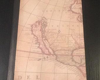 Map journal, graph paper,