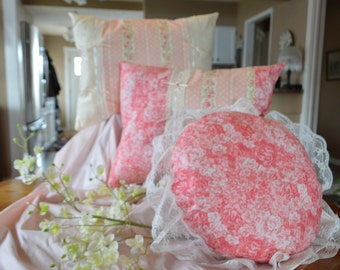 LOWER PRICES!Decorative Pillows, The Victorian Rose Collection