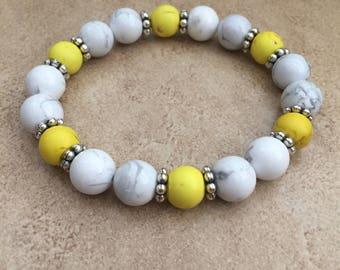 Yello& White Bracelet