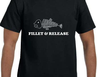 Fillet and Release Funny T-Shirt model xx10003