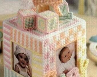 Baby photo cube