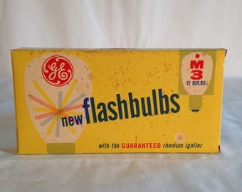 GE Flashbulbs box of 5