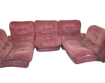 Italian design sofa, late 20th century