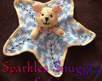 Comfort Teddy Star Blanket