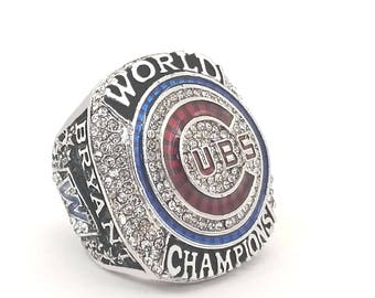 2016 Chicago Cubs World Series Ring Kris Bryant SZ 9-13