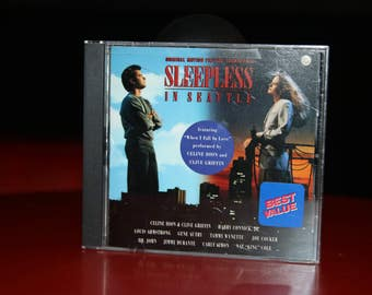 Sleepless in Seattle 1993 Movie Soundtrack Celine Dion Joe Cocker Harry Connick JR. Carly Simon Louis Armstrong