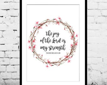 Joy of the Lord Print