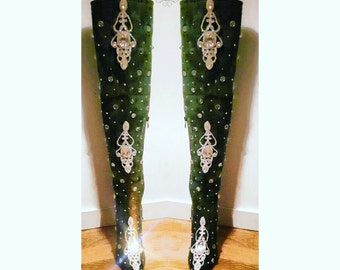 Thigh hight boots - Cuissardes