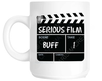 Film Buff Novelty Fun Mug CH53