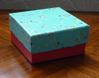 Paper mache gift box