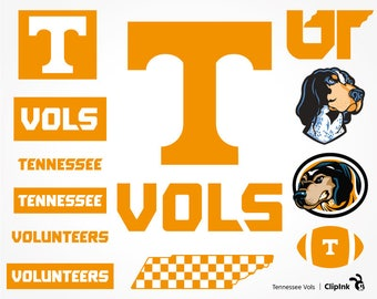 Tennessee Vols svg, Vols clipart, Volunteers svg, Smokey svg, Tennessee svg, digital – svg, eps, png, dxf, pdf. Cut Print Mug Shirt Decal.