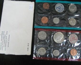 1969 U.S. Original Mint Set, P&D
