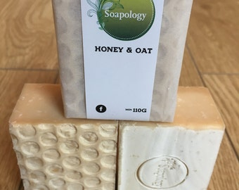 Honey and Oat Milk Soap