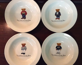Vintage and Hard to Find - The World of Classy Bear Bowls by TAKARA