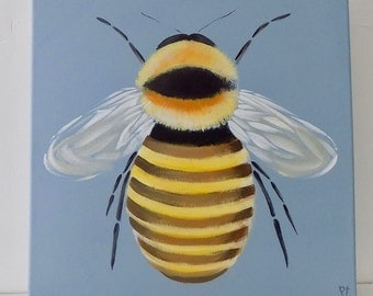 Yellow Tailed Bee