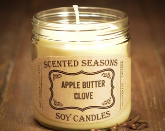 7 oz. Apple Butter Clove All Soy Candle