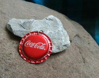 Bottle Cap Pendant - Coca-Cola