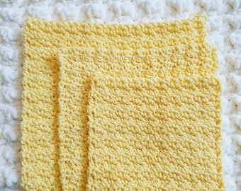 Cotton Wash Cloth- Sunshine