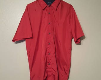 Tommy red button up