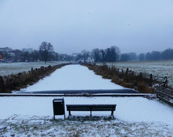 Arnhem St John Brook in the snow