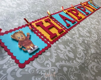 Daniel Tiger Birthday Banner, Daniel Tiger Banner, Daniel Tiger Party Supplies, Daniel Tiger Birthday