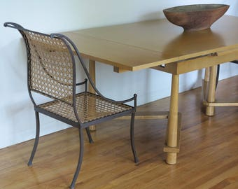 T.H. Robsjohn Gibbings Refectory Dining Table for Widdicomb Furniture Company PICK-UP in NJ only