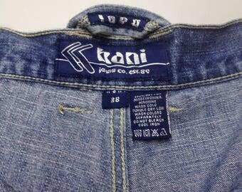 Free shipping karl kani short jeans 90s hip hop gangsta rap