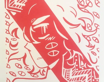 Iasmin Omar Ata-Limited Edition Silkscreen Print