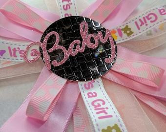 Baby Girl Rosette Corsage