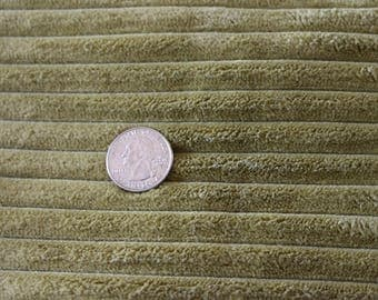 24 Wide wale upholstery fabric in Wonderful Green