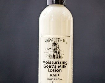 Rain Goat Milk Lotion 8oz.