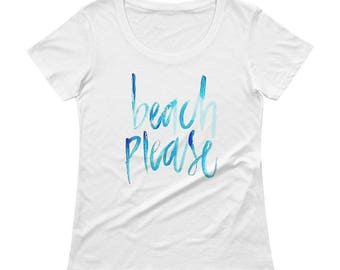 Beach Please Tee (women's)