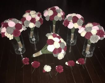 Custom Sola Wood Flower Wedding Bundles