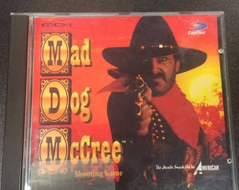 Mad Dog McCree Video Game for Philips CD-i
