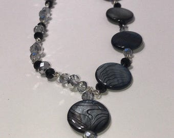Silver Night - Handmade Necklace Made in the USA