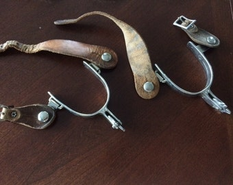 Vintage Set of Cowboy Spurs from a Ranch in Colorado