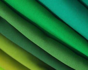 Plain Dyed Viscose- Green Shades