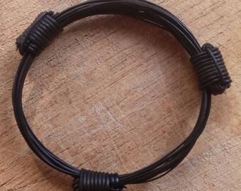 elephant hair like bracelet 3 knots