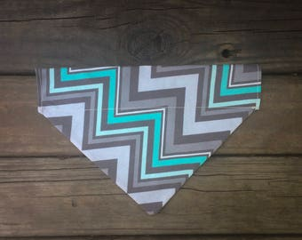 Cool Tones Chevron