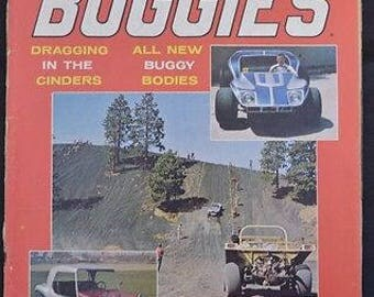 RARE! Sport Buggies Magazine November 1968 Vol 1 #3