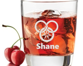 Wheel Of Time, Personalized Glass- Themed Pint Glasses-Beer Glass