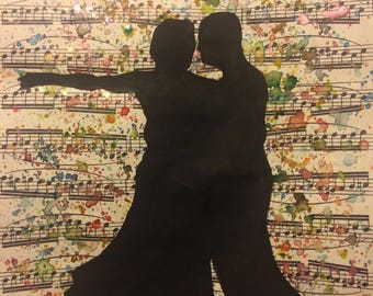 Image result for older couple dancing painting