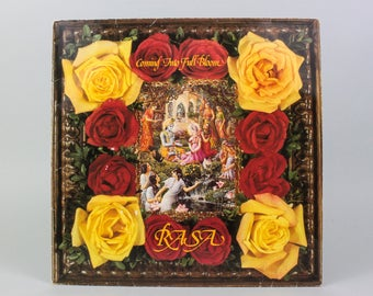 Coming Into Full Bloom - RASA Vinyl - Flower Children - Tales of Krishna - Tabula Rasa - Hare Krishna Music - Relaxation Music - Bohemian