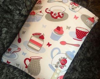Book Sleeve / Book Cover - Afternoon Tea BookBurrow