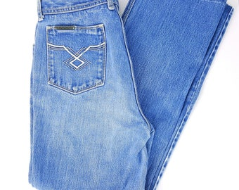 Vintage Jordache Mom Jeans 80s Light Wash Denim High Waist